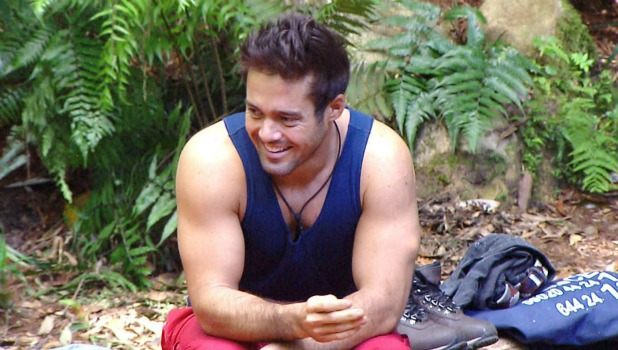 'I'm A Celebrity...Get Me Out Of Here!' TV Show, Australia - 19 Nov 2015 Spencer Matthews wakes up in Snake Rock Camp.