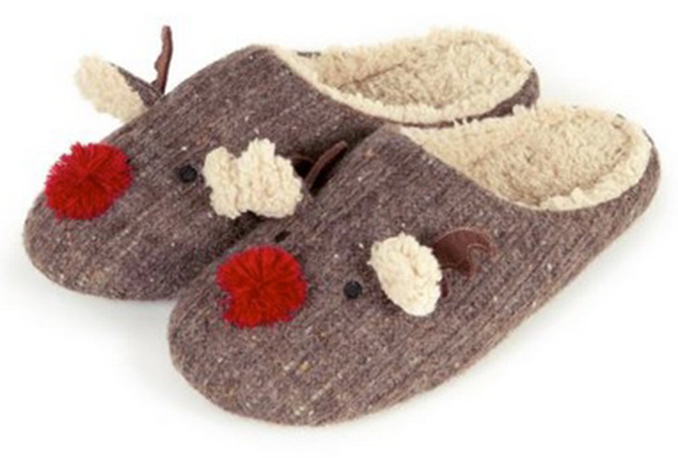 Totes Men Reindeer Slippers, £20