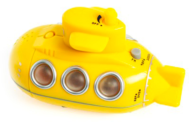Yellow Submarine Shower Radio, £14.95