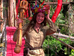Vicky Pattison talks to Joe Swash after being crowned Queen of the jungle on 'I'm A Celebrity... Get Me Out Of Here Now!'. Broadcast on ITV HD