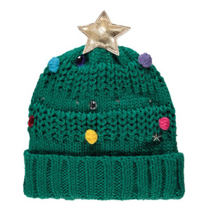 Flashing Christmas Tree Knitted Hat £6, George at ASDA 10th December 2015