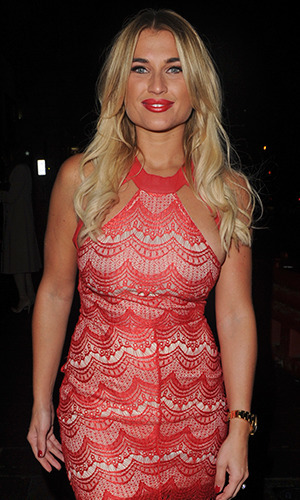 In The Style Billie Faiers launch party - Billie Faiers, 10 December 2015