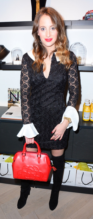 Made in Chelsea's Rosie Fortescue attends London boutique launch, 11th December 2015