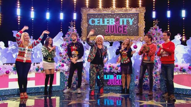 Celebrity Juice Christmas Special, ITV2, Thu 10 Dec