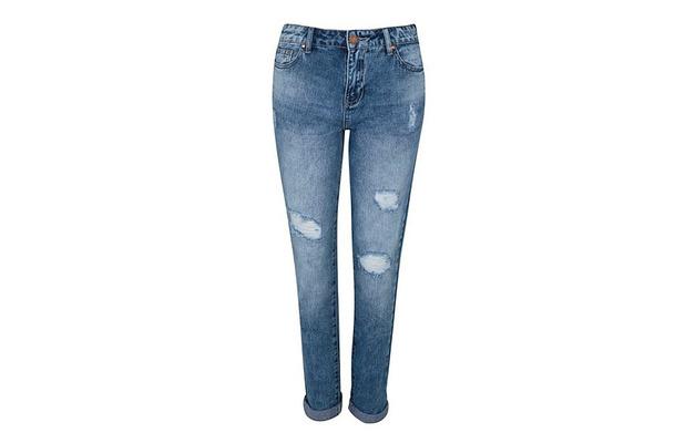 George distressed blue jeans £20, 10th December 2015