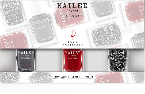 Nailed London Instant Glamour Trio £15.50, 11th December 2015