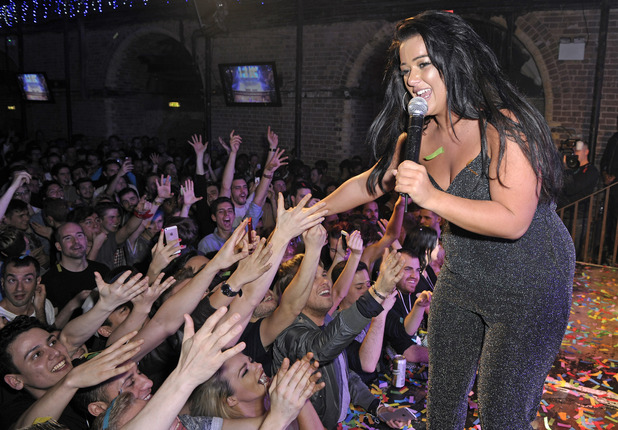 The X Factor evictee Lauren Murray performs live at G-A-Y, 12 December 2015.