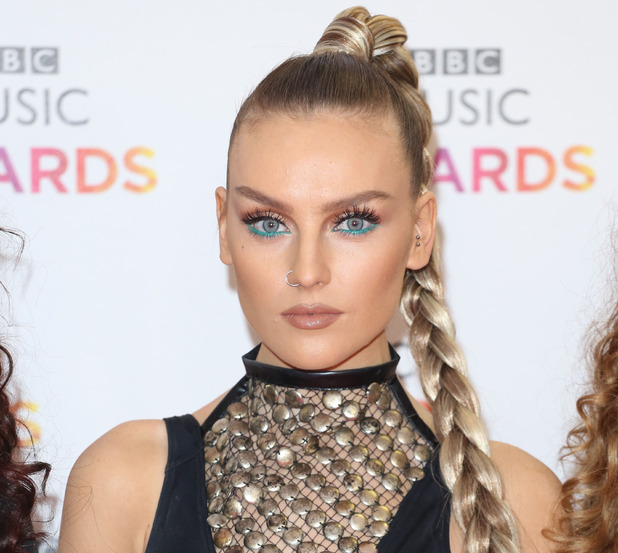 Little Mix star Perrie Edwards at the BBC Music Awards, London 10th December 2015