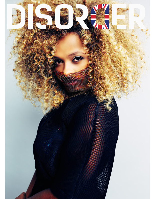 X Factor's Fleur East appears on the front cover of Disorder Magazine, 8th December 2015