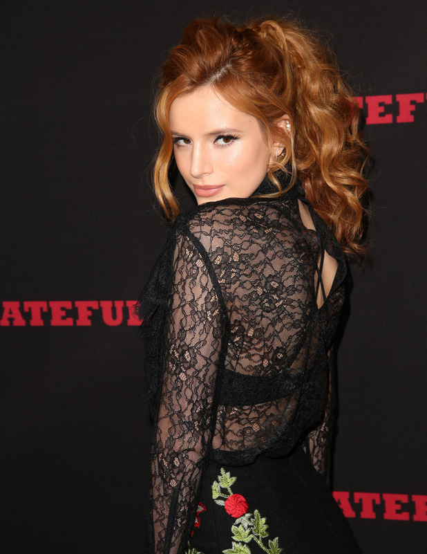 Bella Thorne at the Premiere of The Weinstein Company's 'The Hateful Eight' at ArcLight Cinemas Cinerama Dome, Los Angeles 8th December 2015
