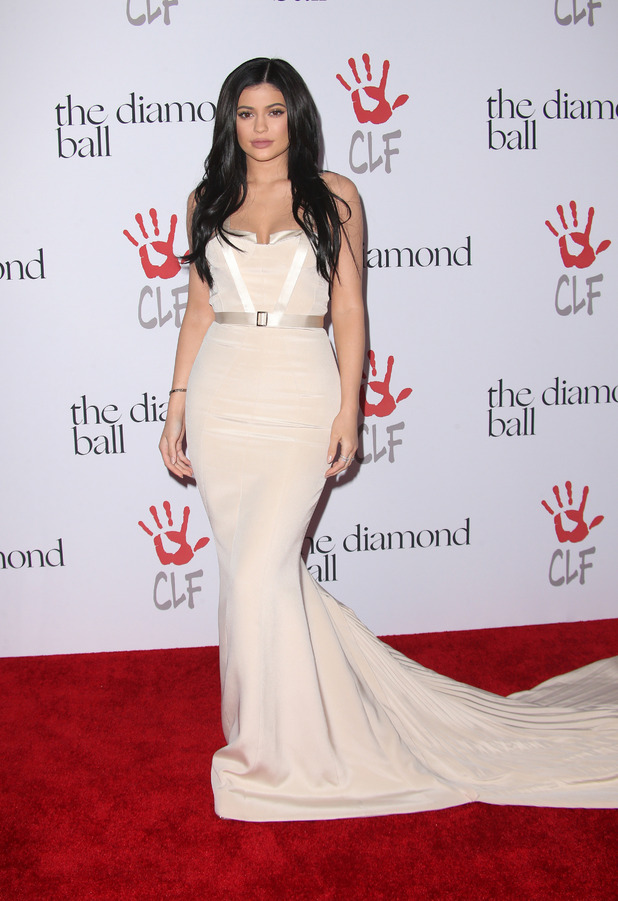 Kylie Jenner attends the: Rihanna and The Clara Lionel Foundation Host 2nd Annual Diamond Ball in Santa Monica, America 11th December 2015