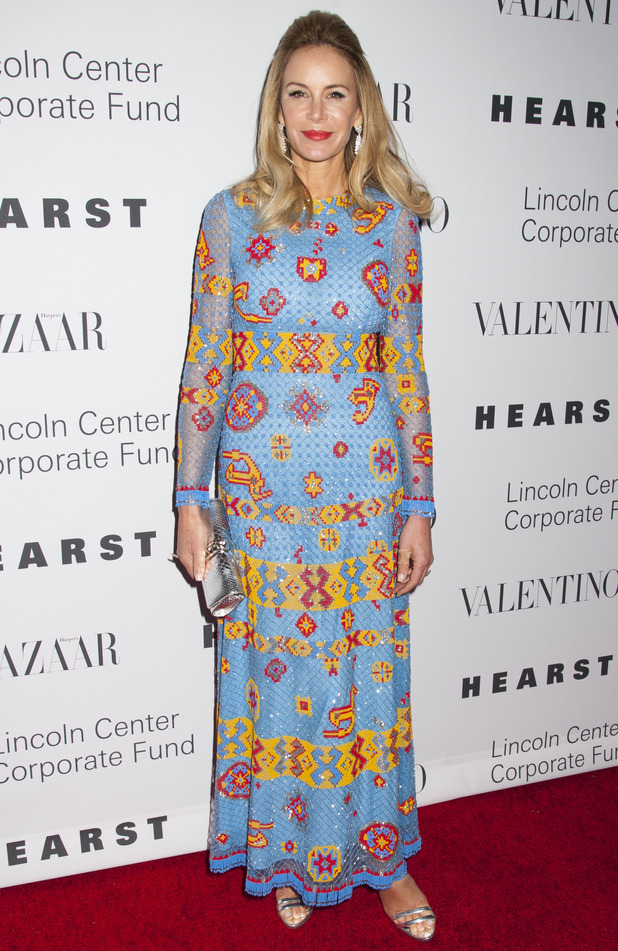 "Dee Ocleppo wears Valentino to ""An Evening Honoring Valentino"" at Lincoln Center in New York, America 8th December 2015"