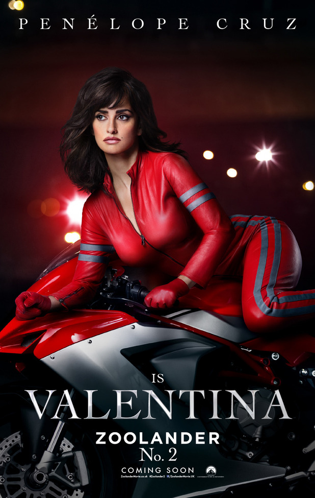 Zoolander 2: Penelope Cruz poster - 8th December 2015