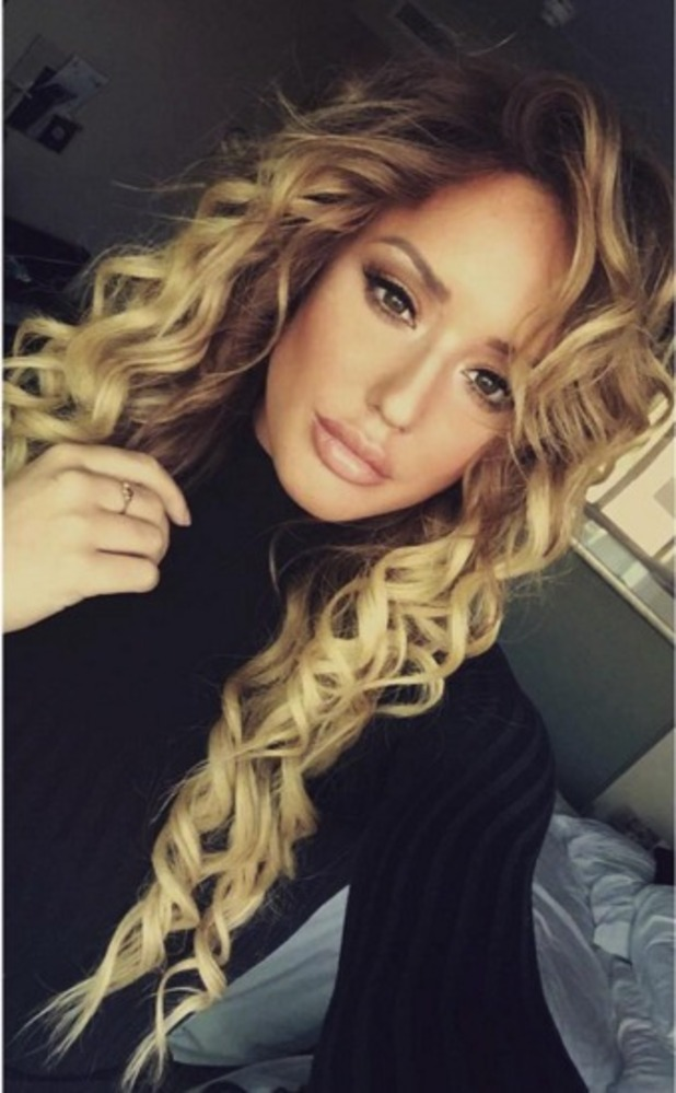 Charlotte Crosby rocks super-curly hair at The Clothes Show Live, 7 December 2015