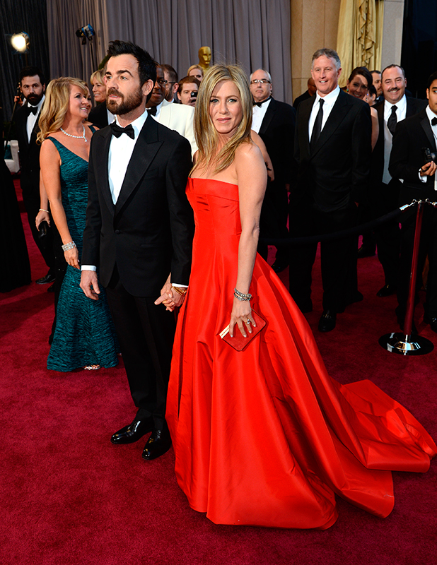The 85th Annual Oscars at Hollywood & Highland Center - Red Carpet Arrivals Jennifer Aniston, Justin Theroux