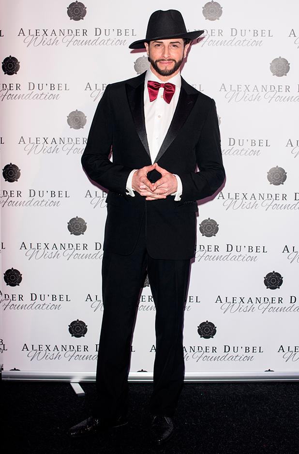 Alexander Du'bel Wish Foundation Charity Ball held at Battersea Evolution Brian Friedman