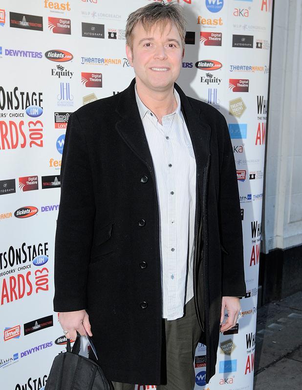 Darren Day Whatsonstage.com Awards Concert launch party held at Cafe de Paris - Arrivals London, England - 07.12.12