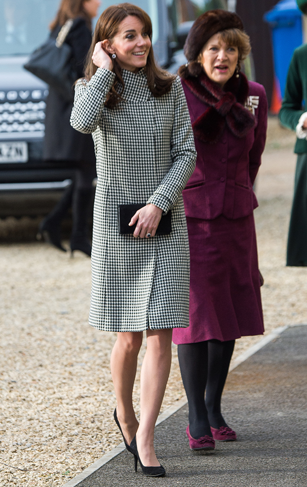 Catherine, Duchess of Cambridge makes an official visit to the Action on Addiction Centre for addiction treatment studies at Action on Addiction Centre on December 10, 2015 in Warminster, England. (Photo by Samir Hussein/WireImage)