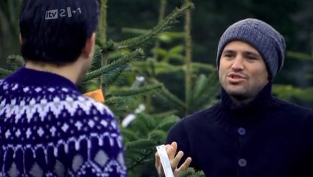 TOWIE series one: Mark and Arg buy Christmas tree