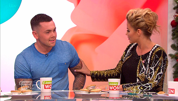 Ray Quinn appears on 'Loose Women' to show off his new physique. Broadcast on ITV1 HD