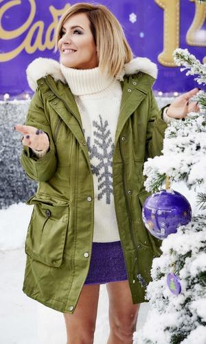 Caroline Flack at Cadbury's Winter Wonderland, Woolwich 14 December