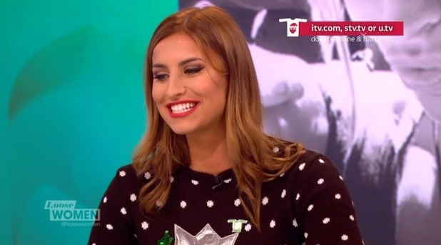 Ferne McCann on Loose Women, ITV 18 December