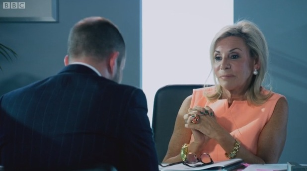 Richard Wood admits defeat, The Apprentice: Interviews 16 December