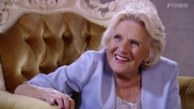 Nanny Pat on 'The Only Way Is Essex'. Broadcast on ITVBe. 2015