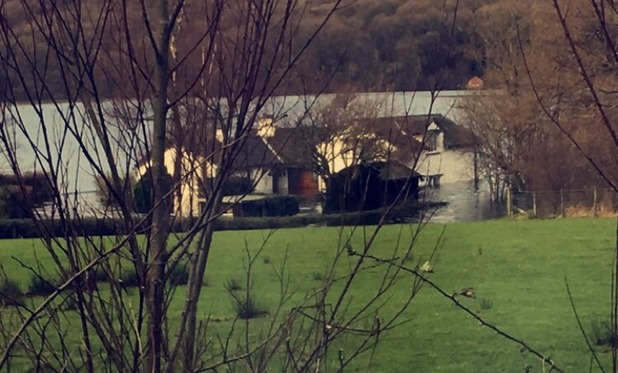 Brooke Vincent Blog: Flooding during trip to The Lakes 14 December