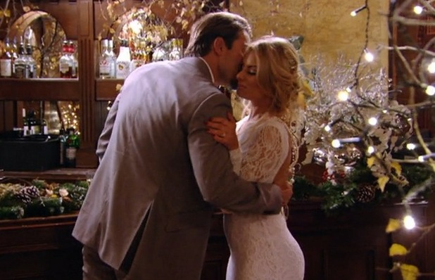 Danielle Armstrong and James Lock, TOWIE Christmas special 16 December
