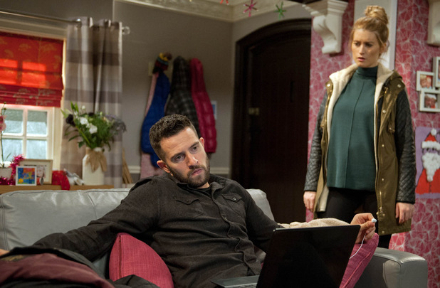 Emmerdale, Debbie confronts Ross, Wed 16 Dec
