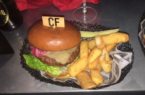 Brooke Vincent Blog: Burger and Chips at Corrie Christmas party 18 December