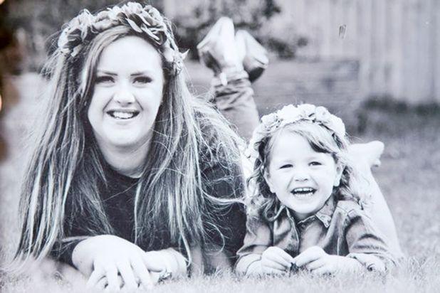 Katie Cutler and her daughter Gracie