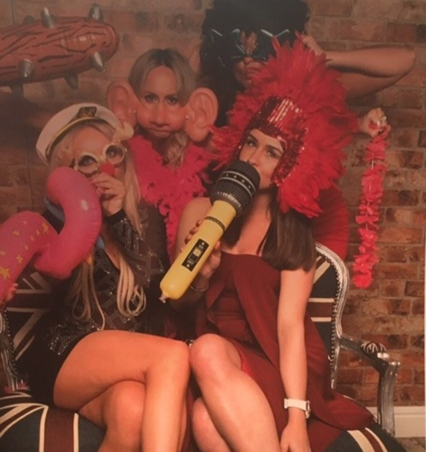 Brooke Vincent Blog: Corrie Christmas party 18 December