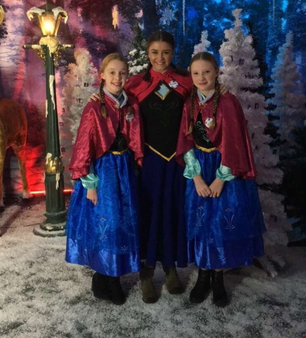 Brooke Vincent Blog: Brooke dresses up as Anna from Frozen 18 December