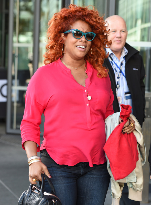 Kelis pictured at the BBC Breakfast Studios in Manchester 16 September