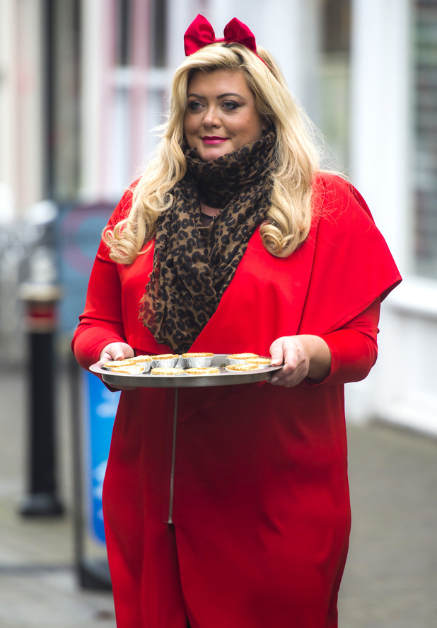 Gemma Collins - The Only Way is Essex Christmas special  24 Nov 2015