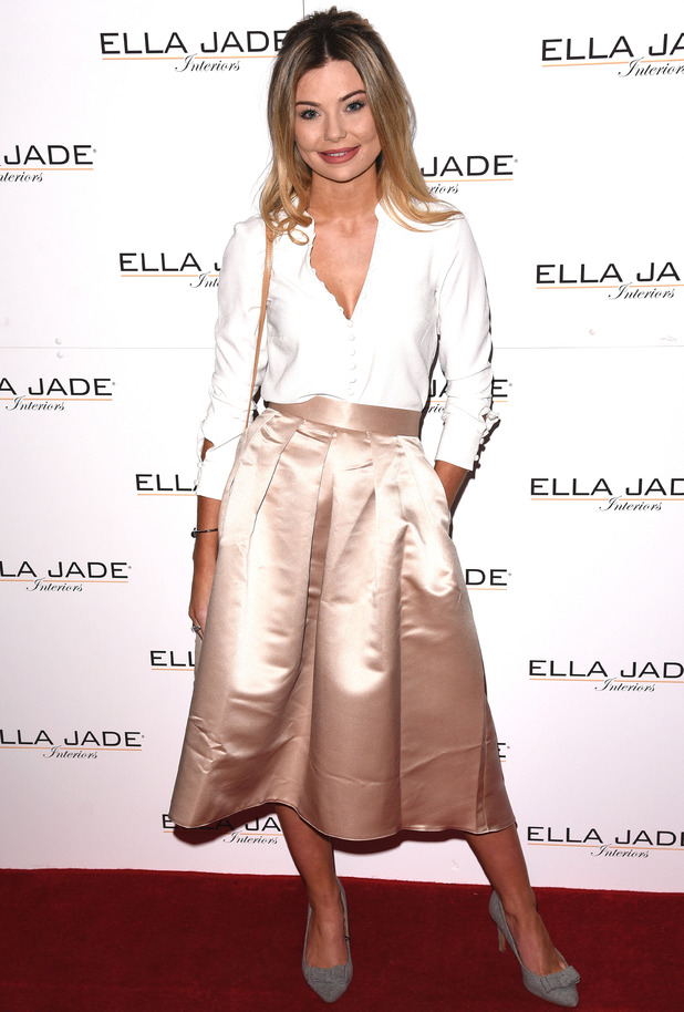 Georgia 'Toff' Toffolo attends Ella Jade's 'Chair Your Wish' launch at Whiteleys, Queensway, London - 15th December 2015
