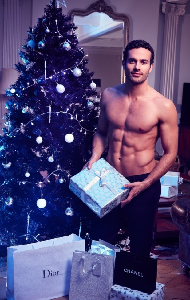 James Dunmore for Reveal's sexy santa