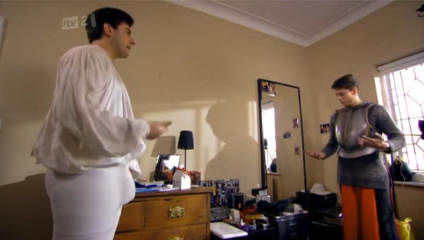 The Only Way Is Essexmas, Series Two Arg in a codpiece