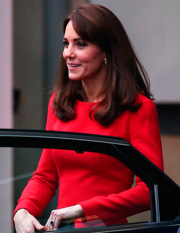 Catherine, Duchess of Cambridge visits the Anna Freud Centre 15 Dec 2015
