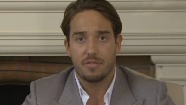 TOWIE's Lockie talking to website after Essexmas special, 16 Dec 2015