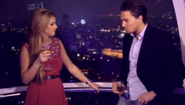 TOWIE Essexmas: series seven Lucy and Mario
