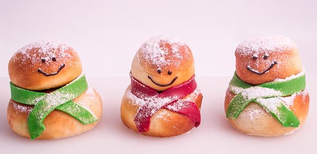 Dum Dum Christmas Doughnuts