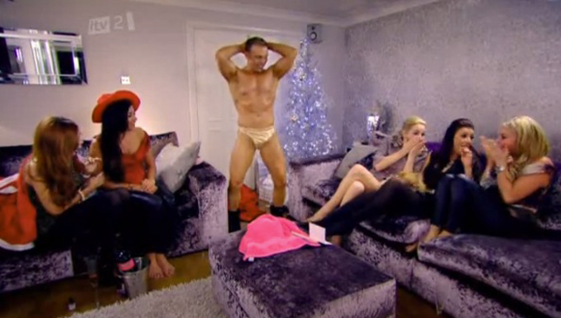The Only Way Is Essexmas, Series Two Debbie sends a stripper to the girls
