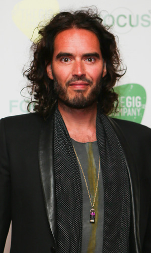 Russell Brand - red carpet arrivals for the Life and Soul fundraiser at Porchester Hall - 24 June 2015.