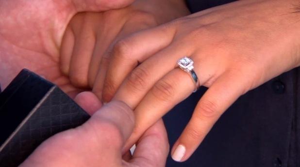 Marnie Simpson engagement ring, Geordie Shore 22 December