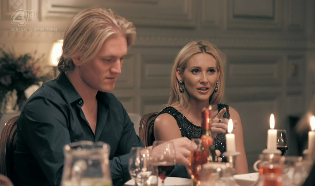 Stephanie Pratt and Richard Dinan Made In Chelsea 3 November