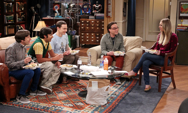 Professor Proton helps Sheldon cope with grief, while Leonard turns a relationship milestone into a competition with Penny, on THE BIG BANG THEORY 1 May