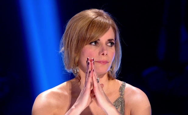 Darcey Bussell as the judges deliver their verdict on the dance off, on the results show of 'Strictly Come Dancing'. Broadcast on BBC1 HD. 13th December 2015